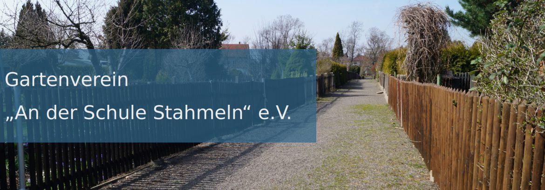"""Gartenverein """"An der Schule Stahmeln"""" e.V."""